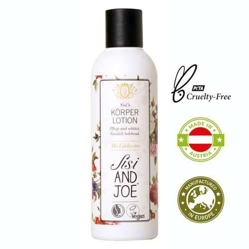 Body Lotion 200 ml Sisi and Joe - gefertigt in Österreich