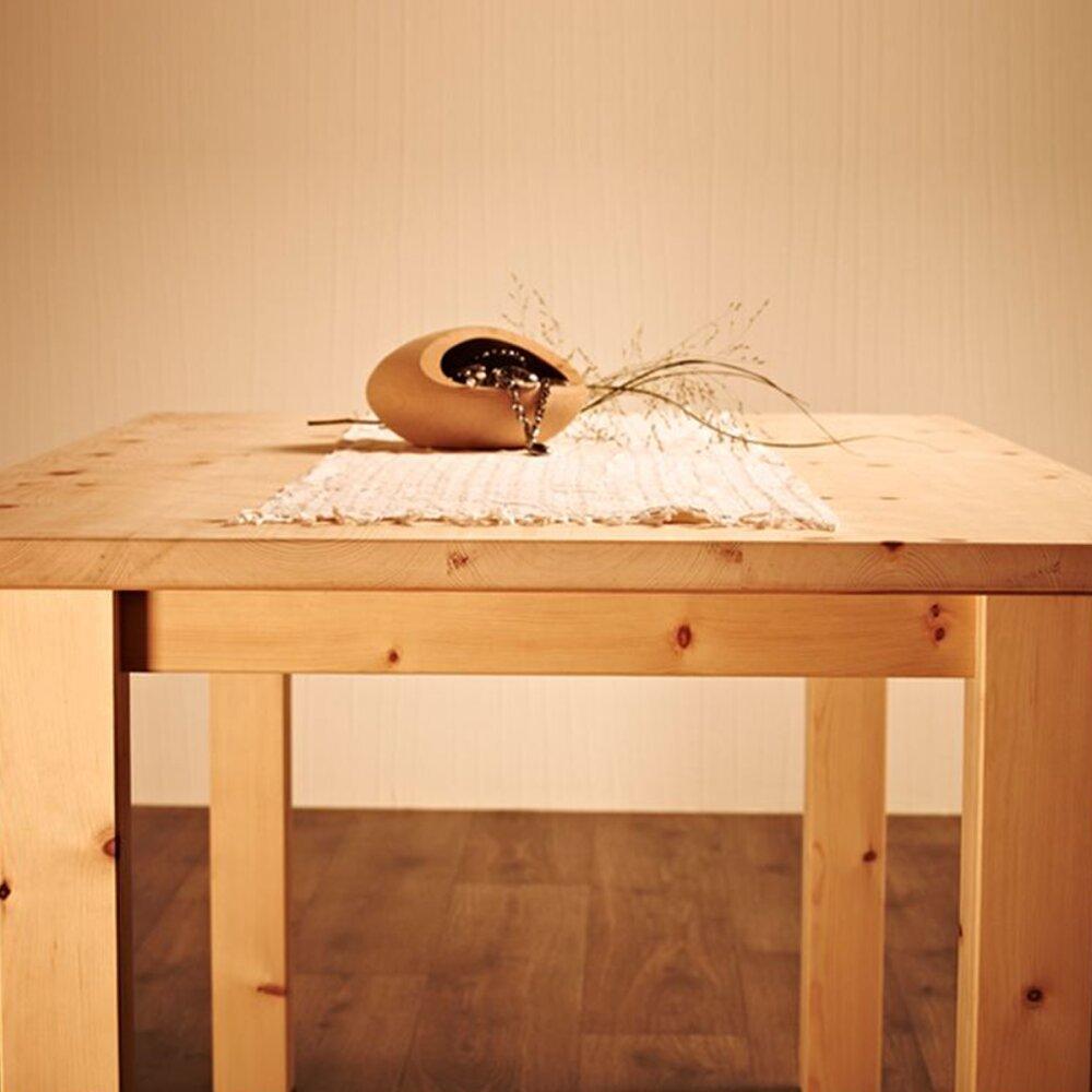 Massiver Holztisch 'Tablein' im Landhaus Stil