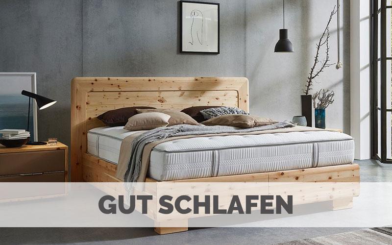 Besser Schlafen - Massivholzbetten